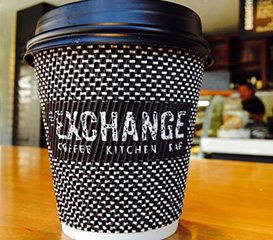 The Exchange Cafe Queenstown coffee to go